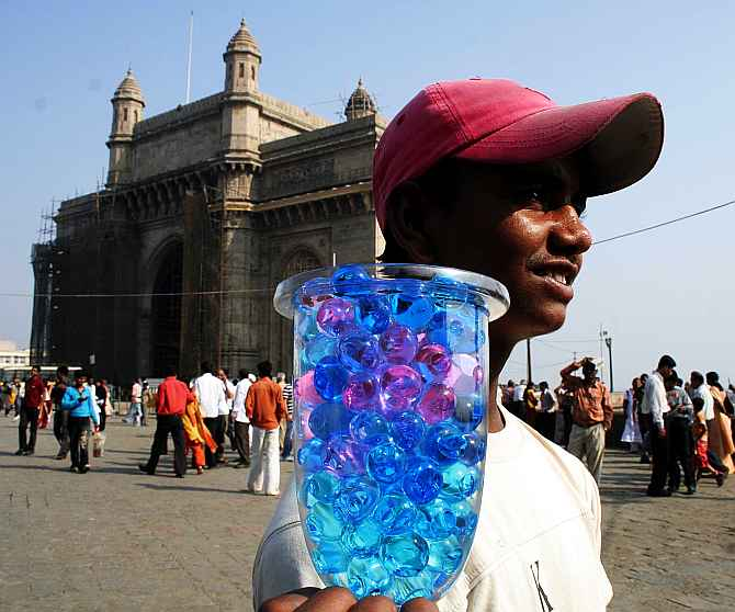 The election hung heavy in the air over the wealthy tourist hot-spot of Colaba Causeway in the Mumbai South constituency. Everyone had an opinion, from businessmen to beggars, about who should form the next government in India.