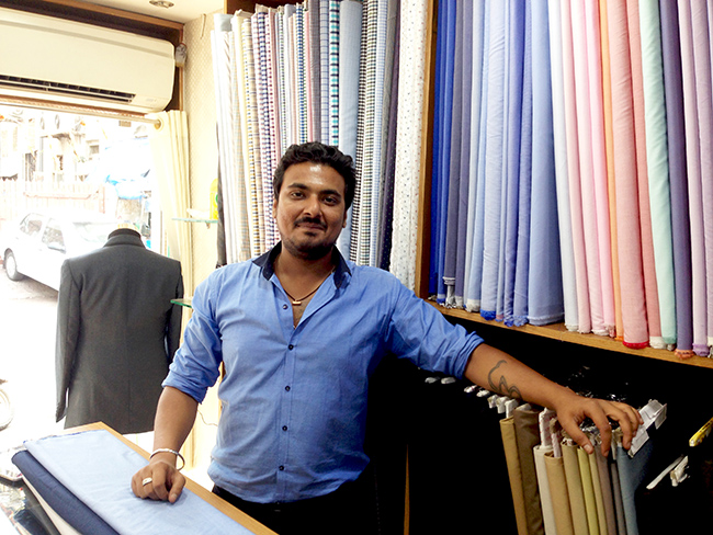 Boutique owner Hitesh Chhabria is rooting for the Congress