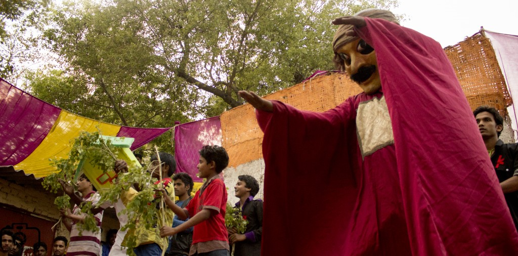 The artisans of a New Delhi colony feels like puppets on strings. Will their vote make a difference? Photo: Nithil Dennis