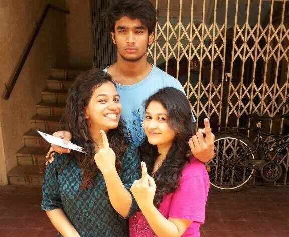 Young voters in Mumbai. Photo: Apekshita Varshney